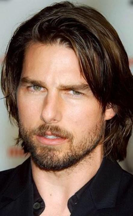 Модная голливудская борода фото