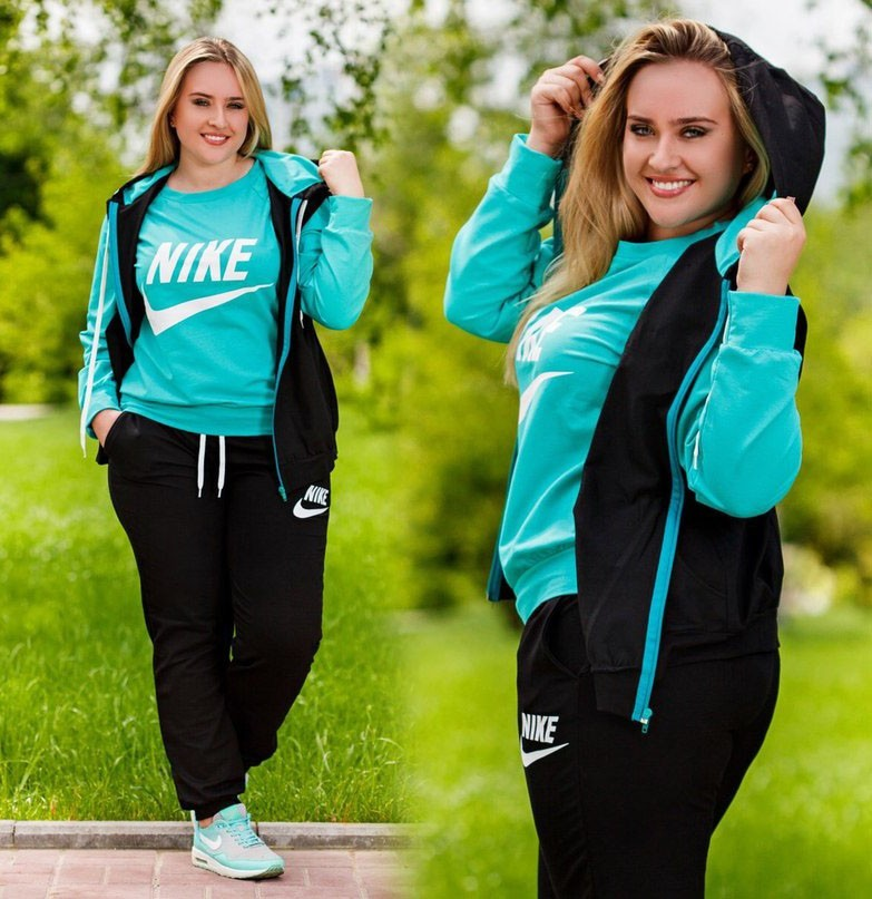 спортивный костюм женский 2018 2019: модные для полных фото