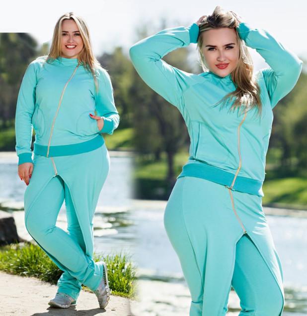очень красивый спортивный костюм для полных женщин