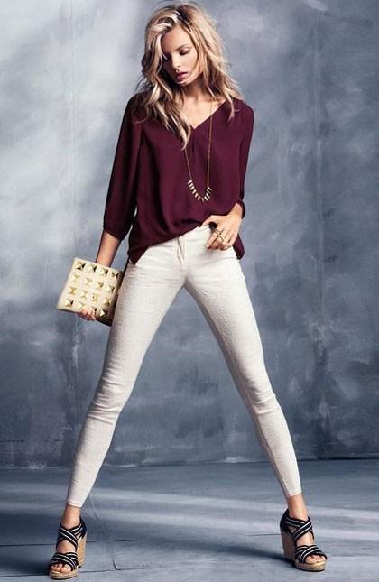 стильные образы на каждый день для девушек: брюки