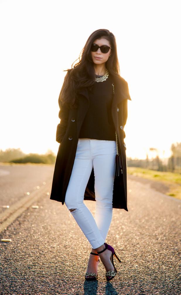 Стильные образы с джинсами на каждый день фото 2017