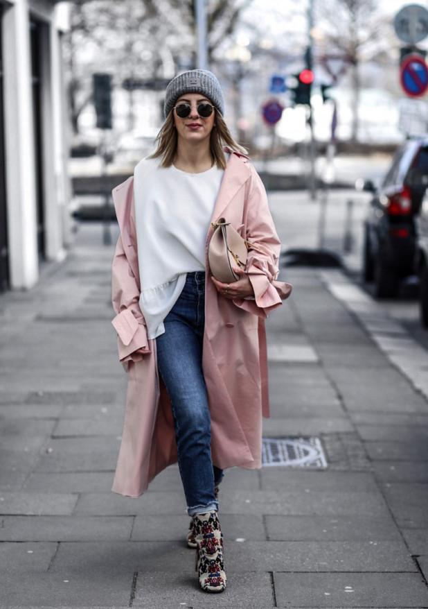 модный образ с джинсами для девушек