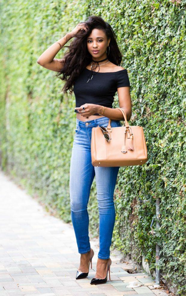 стильные образы на каждый день 2018-2019: красивый с джинсами