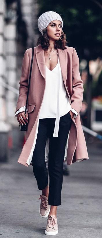 стильные образы на каждый день 2020-2021: с пальто