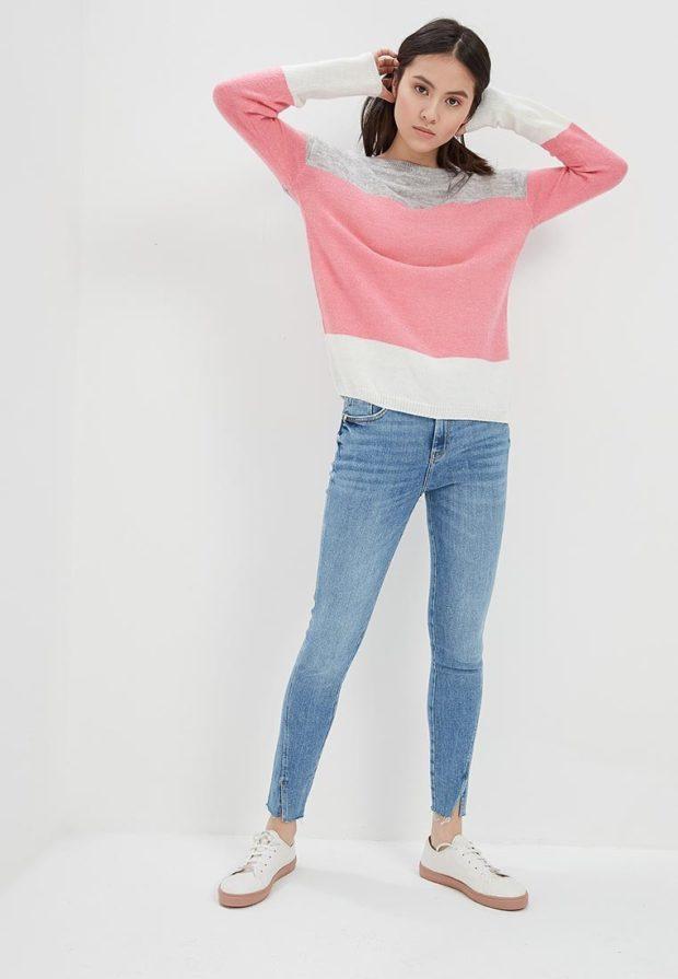 стильные образы на каждый день 2018-2019: с джинсами