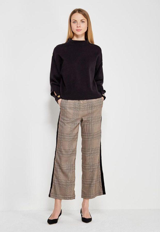 стильные образы на каждый день для девушек: с серыми брюками