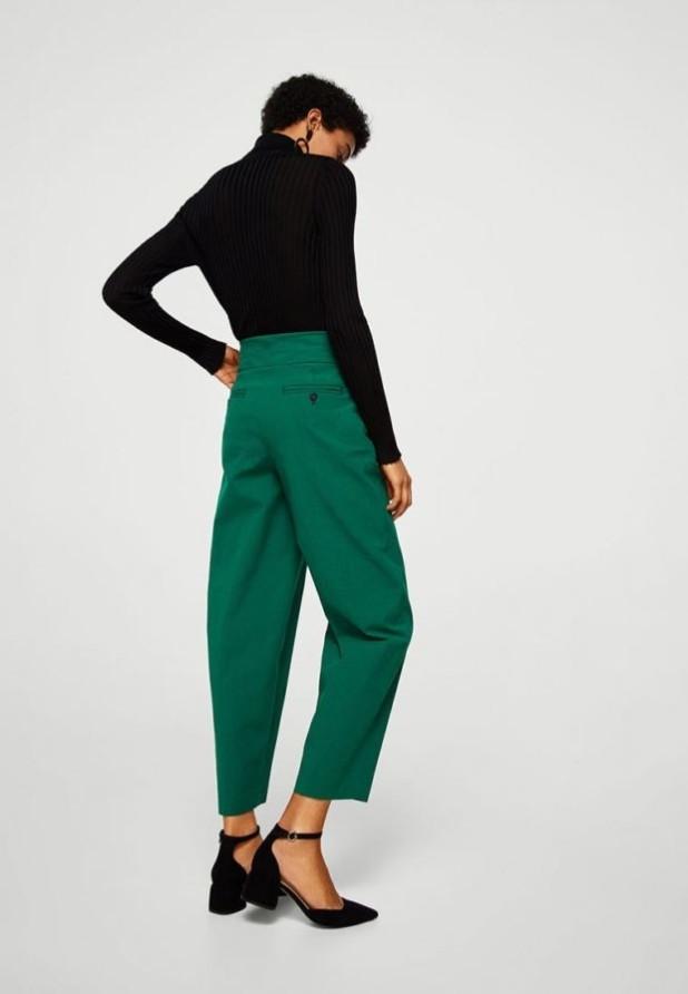стильные образы на каждый день для девушек: с зелеными брюками на каждый день фото 2018-2019