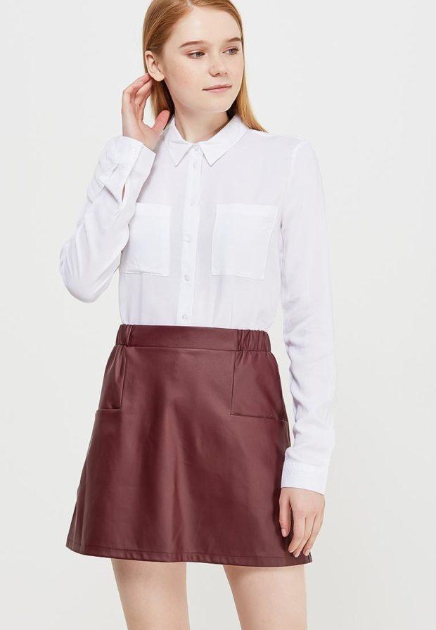 стильные образы на каждый день 2018-2019: с белой блузкой