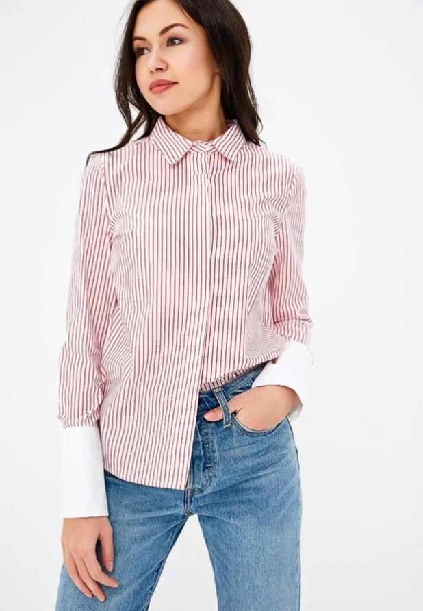 стильные образы на каждый день 2018-2019: с розовой блузкой