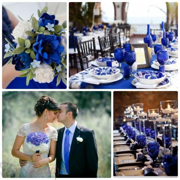 свадьба мода 2018 2019: в синем цвете
