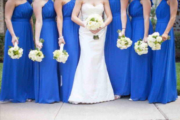 свадьба мода 2019 2020: в синем цвете
