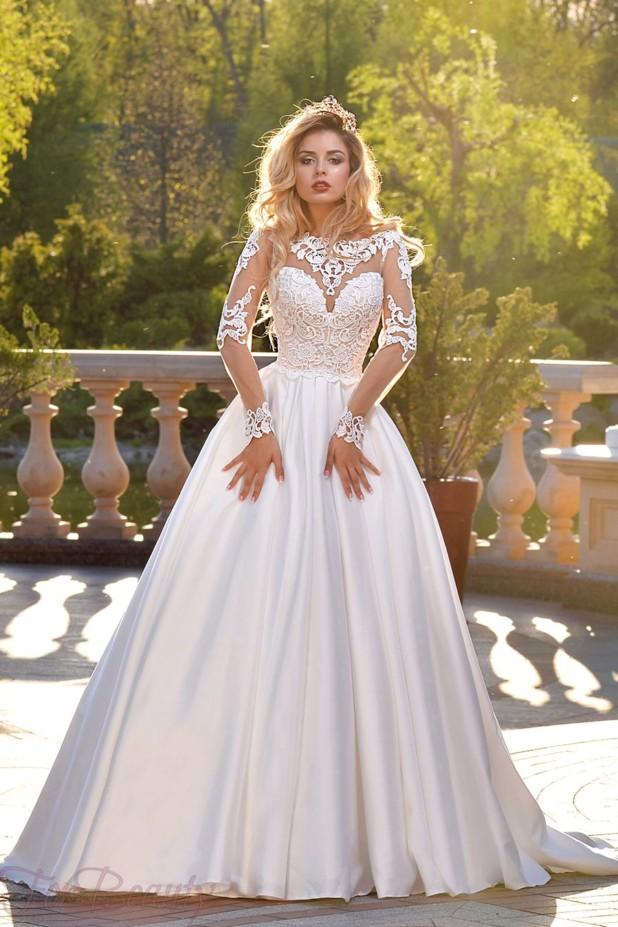 17271d981de Свадебная мода 2018 2019 года тенденции 107 фото новые идеи