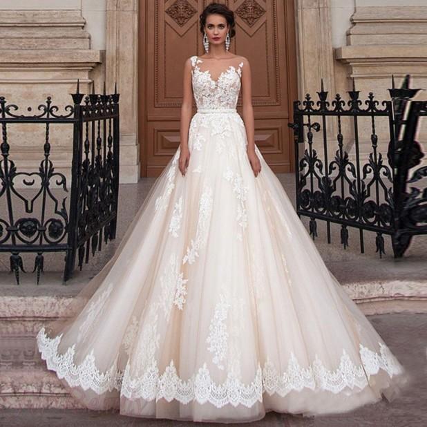 свадебное платье 2018 2019