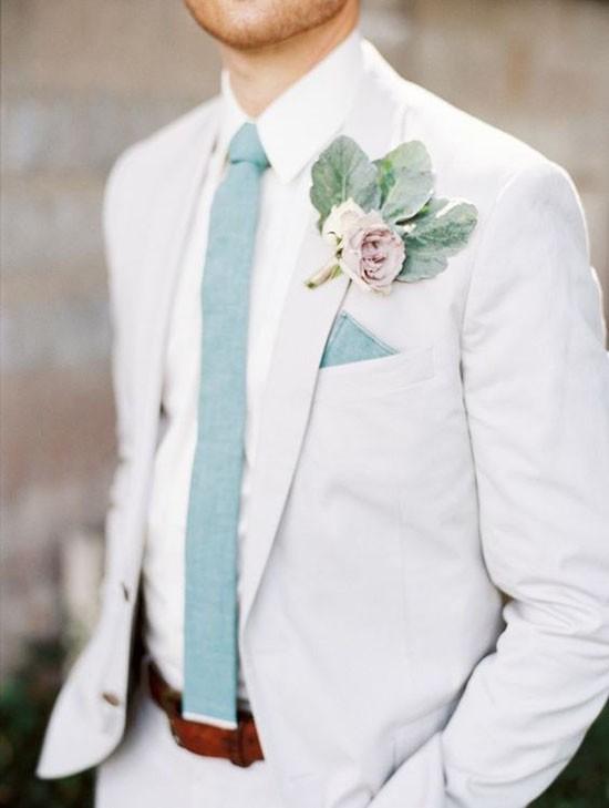 стильный свадебный мужской костюм