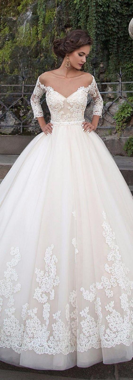 Свадебная мода на платья 2018 2019 фото