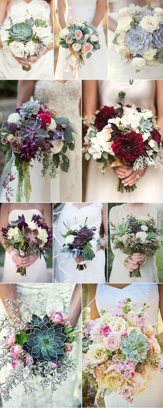 красивый свадебный букет 2018 2019 фото
