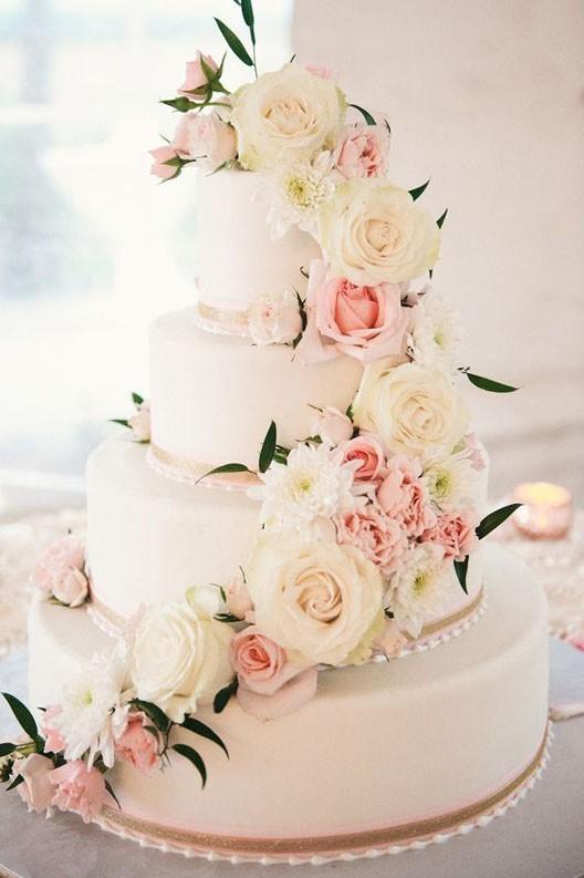 красивый свадебный торт 2018 2019 фото