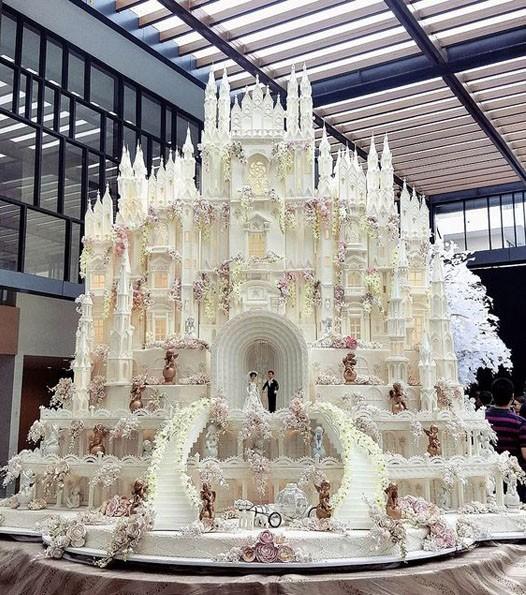 Свадебный торт 2018 2019 фото