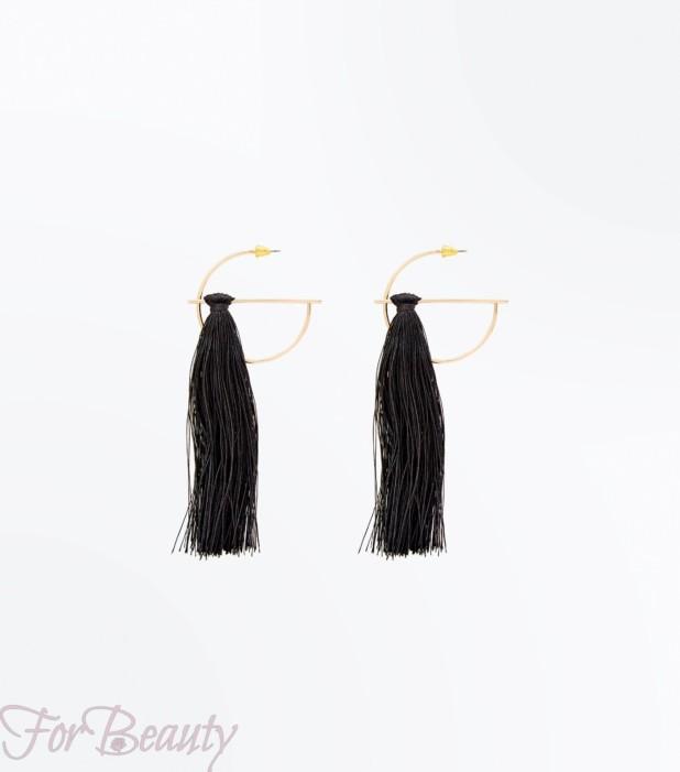 модные серьги 2018