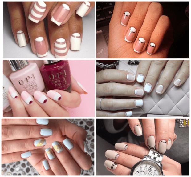 Лунный белый маникюр 2018-2019 модные тенденции