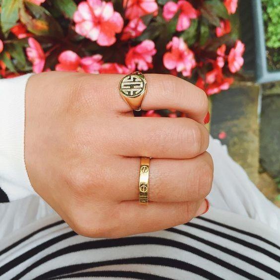 Как носить перстень-печатку мужчине фото