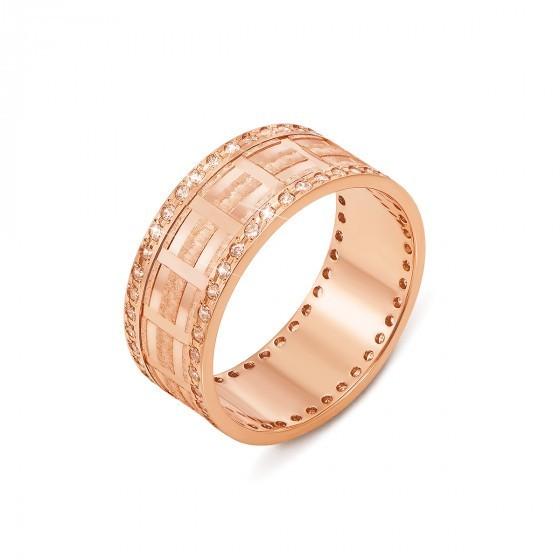 Мужское обручальное кольцо золото