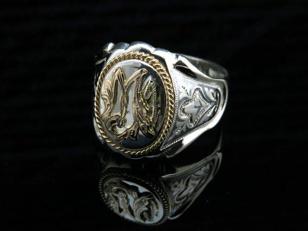 мусульманский мужской перстень