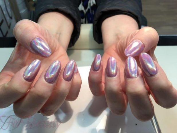 мода ногти осень 2019