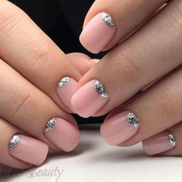 Маникюр 2018 на короткие ногти