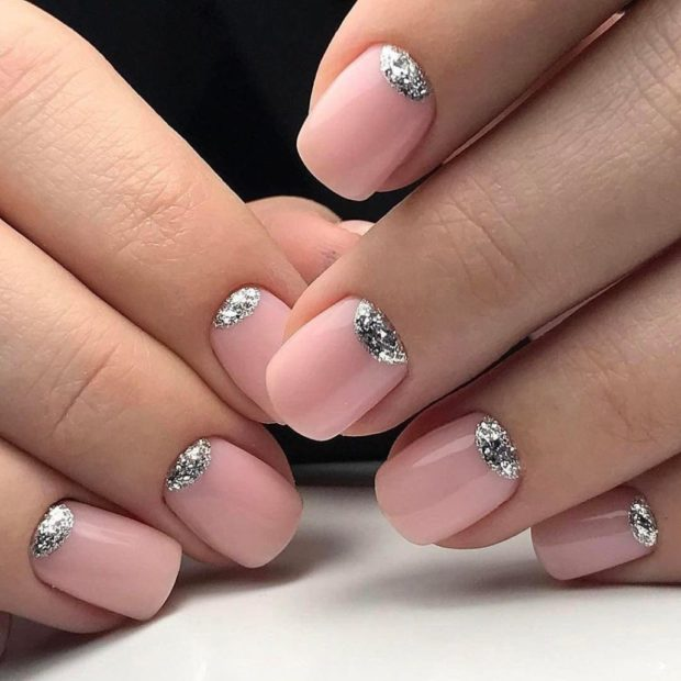 Маникюр 2018-2019 на короткие ногти