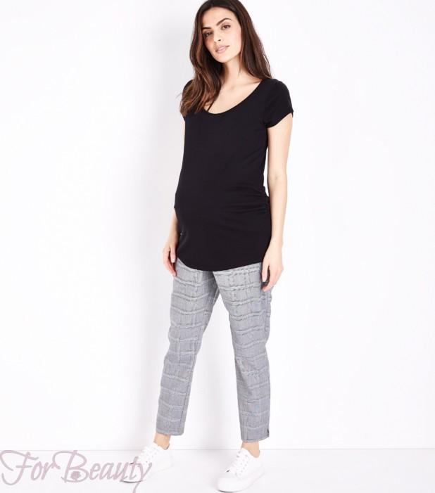 Деловая модная одежда для беременных 2018 фото