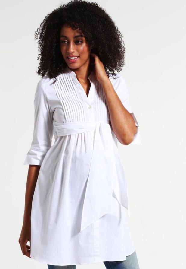 белая туника для беременных