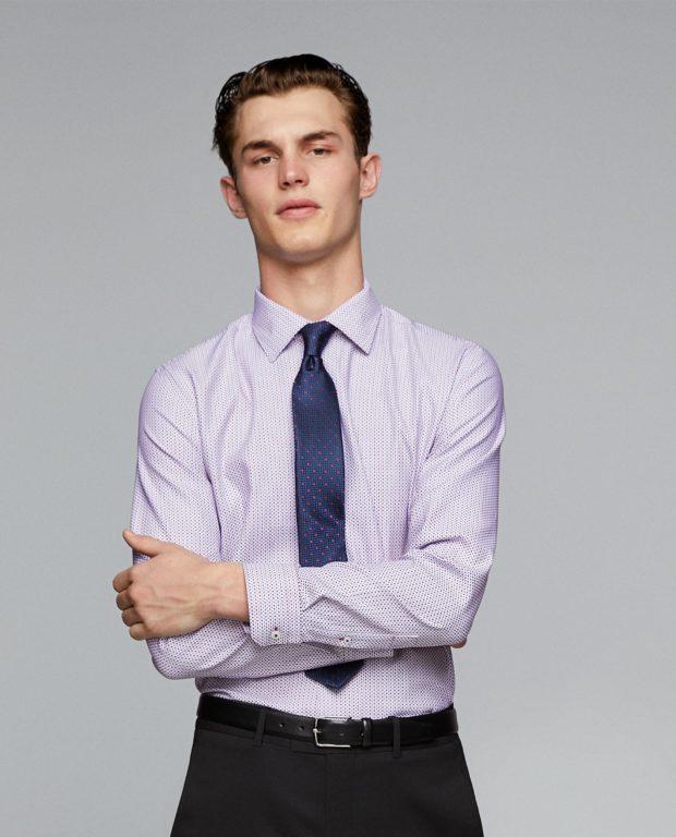 Приталенная рубашка для подростка 2018-2019