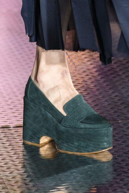 Модная обувь на платформе осень-зима 2018-2019