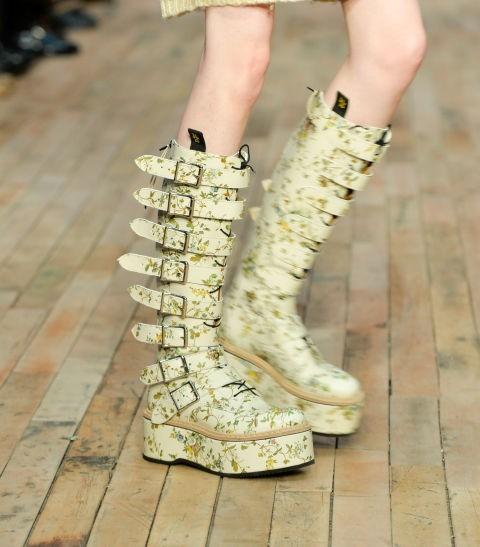 Модная обувь ремешками осень-зима 2018-2019