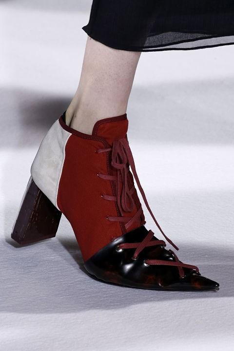 Модная обувь с острым носом осень 2018-2019
