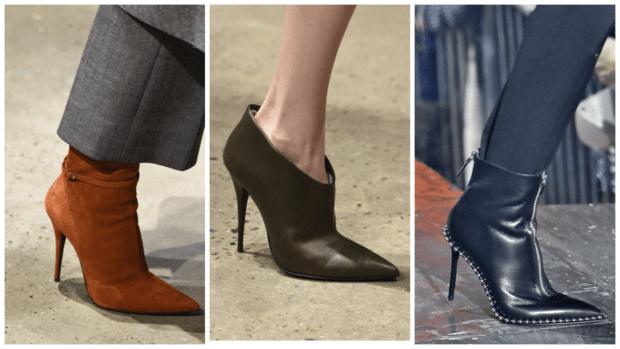 Модная обувь на шпильке осень-зима 2018-2019