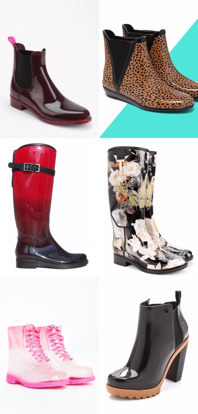 Модные резиновые сапоги осень-зима 2018-2019