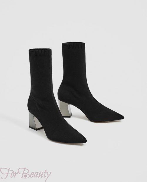 Модная обувь с квадратным каблуком осень-зима 2018-2019