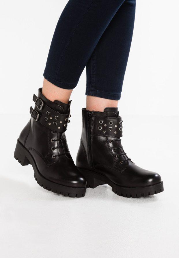Модная грубая обувь с рифленой подошвой осень-зима 2019-2020