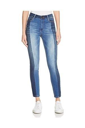 стильные джинсы со вставками
