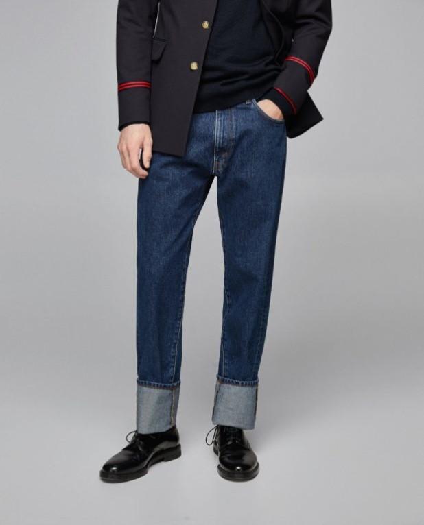 Классические мужские джинсы 2018-2019