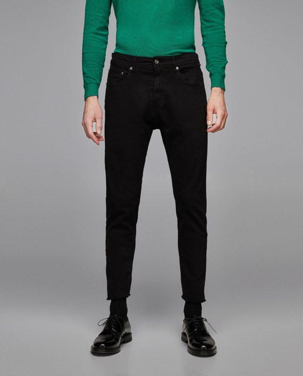 Мужские конические джинсы
