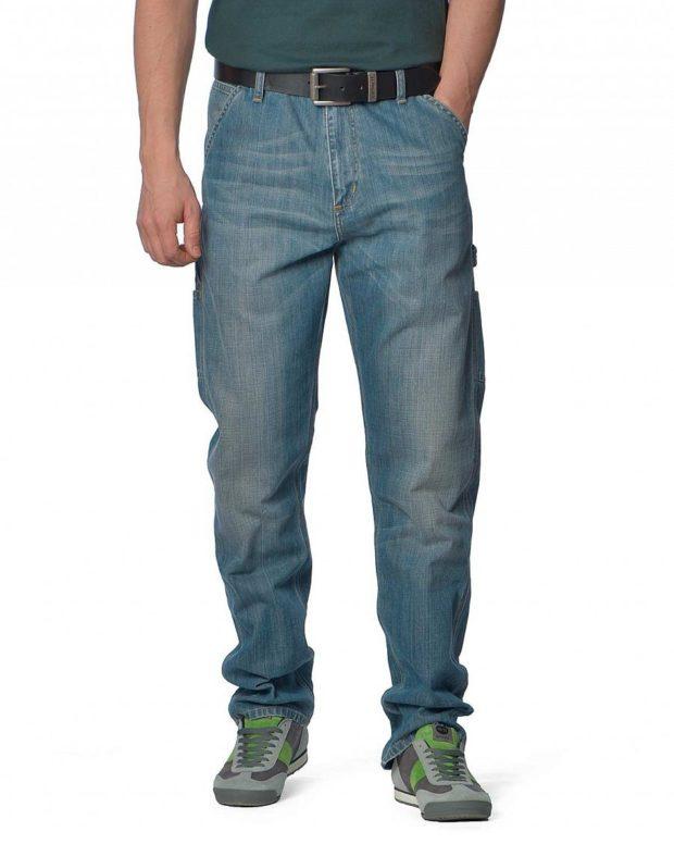 Мужские широкие джинсы