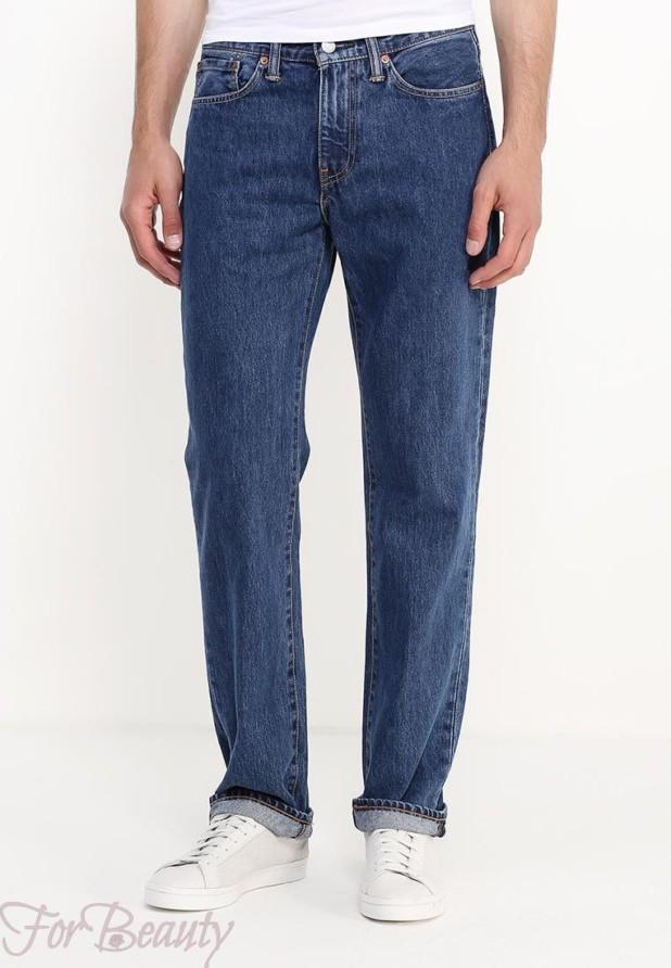 Мужские широкие джинсы 2018
