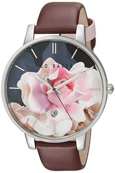 цветочный принт женских наручных часов