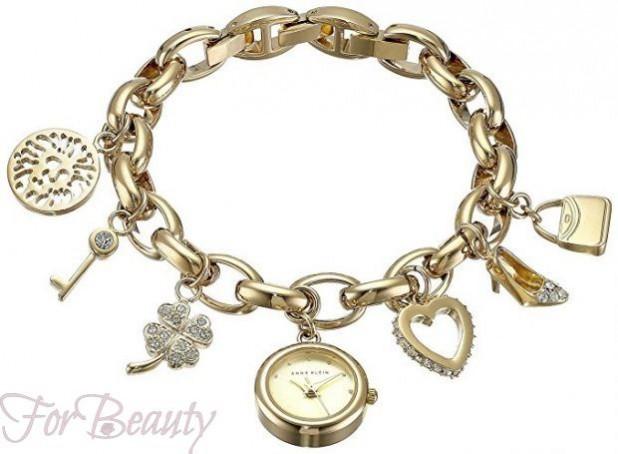 модные женские часы в форме браслетов 2017 фото