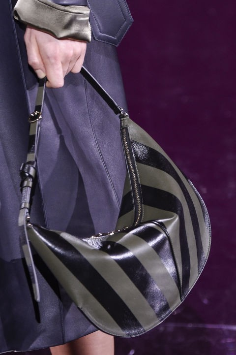 модная женская сумка полосатая