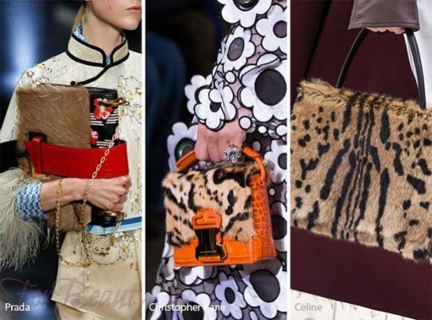стильные сумки из меха фото женские