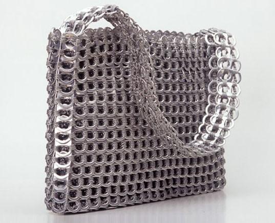 модные сумки из металла